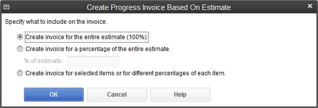 how to make a estimate