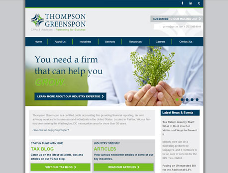 Live CPA Website Design Features for Accountants