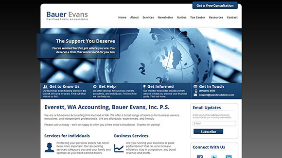 Accounting website templates and cpa website designs maxwellsz