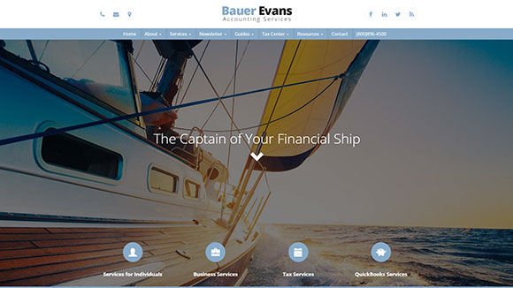 Accounting Website Design #565