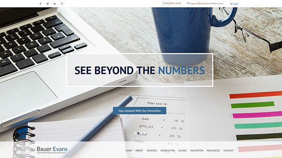 Accountant Website Templates Cpa Template Bookkeeping Tax Preparer
