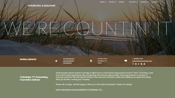 accountant website templates for cpas bookkeepers enrolled agents